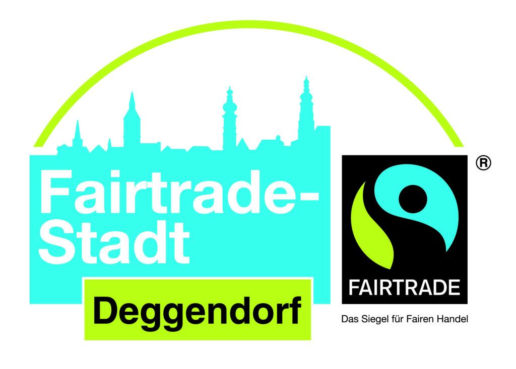 Logo der Fairtrade Stadt Deggendorf