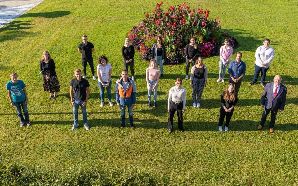 Die neuen Nachwuchskräfte der Stadt Deggendorf
