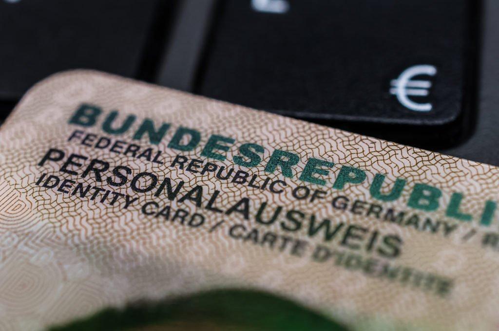 Personalausweis der Bundesrepublik Deutschland