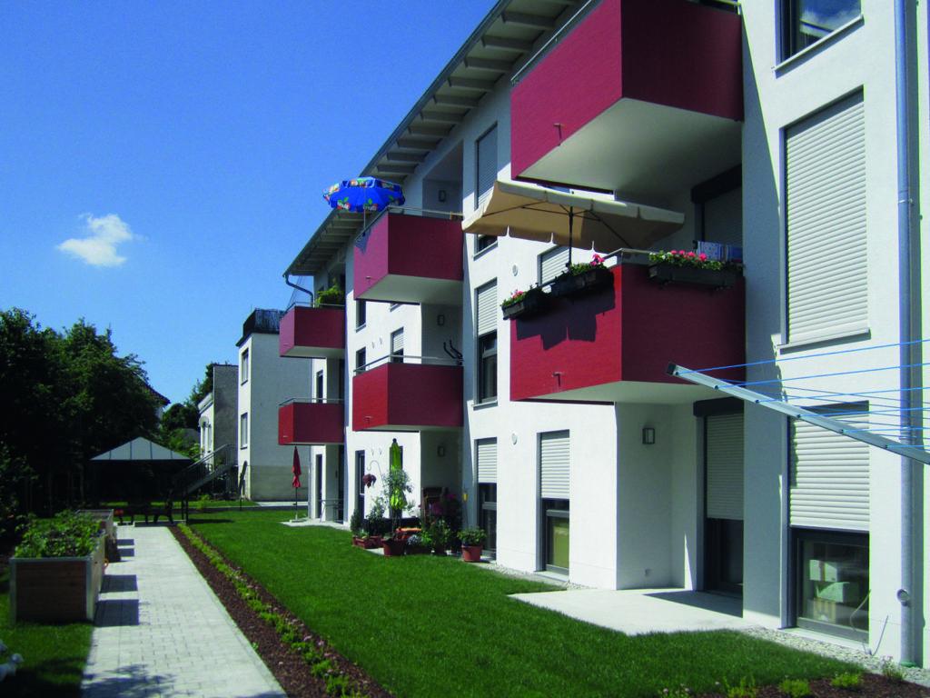 Soziale Mietwohnungen in der Hirzau Deggendorf