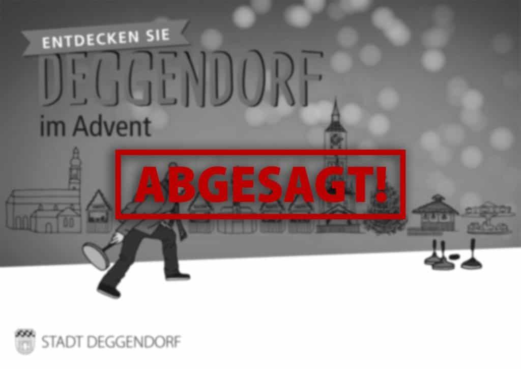 Deggendorf im Advent 2020 abgesagt!