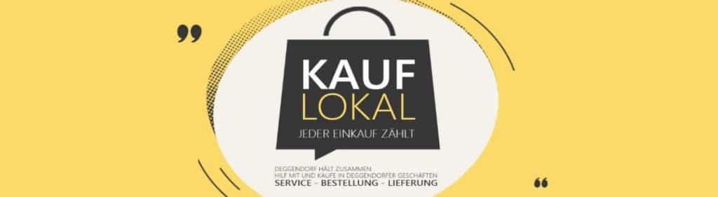Kauf Lokal Logo (Einkaufstasche) der STadt Deggendorf