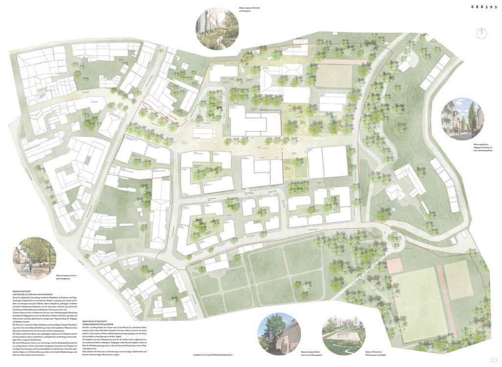 Gewinner-Entwurf des Klosterviertel Deggendorf