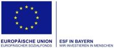 Logo des Europäischen Sozialfonds (ESF)