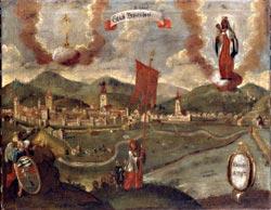 Stadtansicht aus dem 18. Jh.